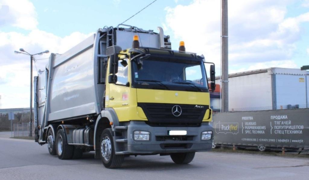 Mercedes-Benz siuksliavezis